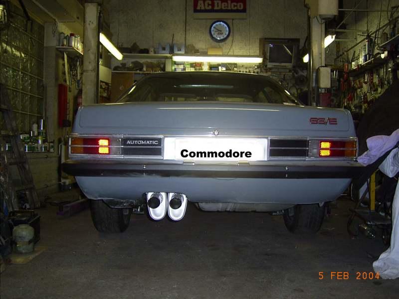 Commodore V8
